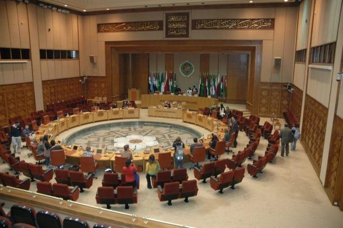 Plenumsalen til Den arabiske liga (Foto: AlMustashriqa, flickr.com)