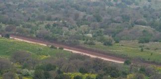 Grensegjerdet mellom Syria og Israel (Foto: Michael Privorotsky)