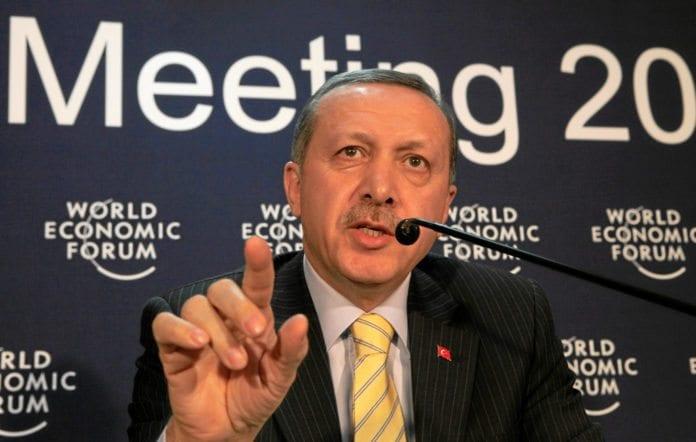 Tyrkias statsminister Recep Tayyip Erdogan (Foto: WEF)