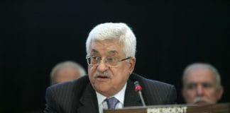PA-president Mahmoud Abbas (Foto: Ryan Brown, UN Photo)