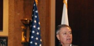 Den republikanske senatoren Lindsey Graham (Foto: John Orrell, U.S. Air Force)