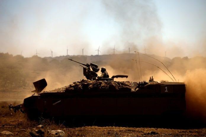 Israelsk stridsvogn (Foto: IDF)