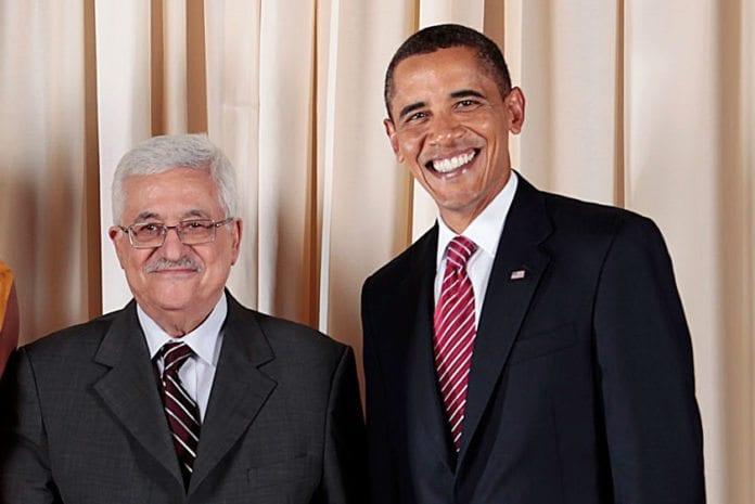 PA-president Mahmoud Abbas og USAs president Barack Obama. (Foto: Lawrence Jackson, Det hvite hus)