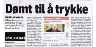 Faksmile av artikkel på side 13 i Klassekampen fra 2. mars 2013.