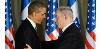 President Barack Obama og statsminister Benjamin Netanyahu under pressekonferansen 20. mars. (Foto: GPO)
