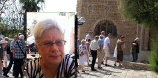 Reidun Bugge, styremedlem i MIFF Østfold, leder turgruppe til Israel 28. september til 8. oktober.