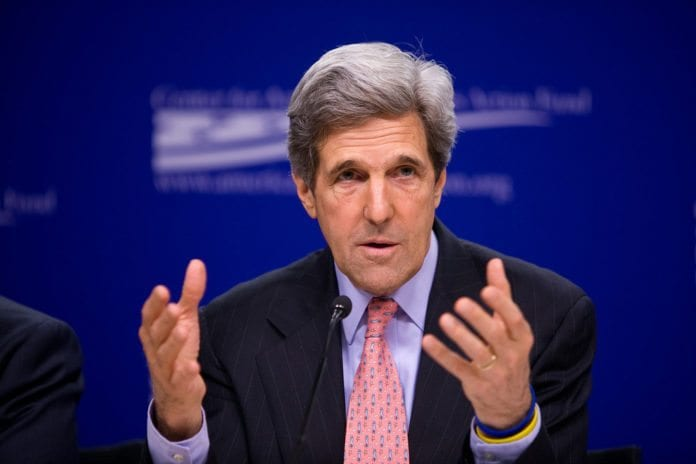 USAs utenriksminister John Kerry (Foto: Center for American Progress Action Fund, flickr.com)