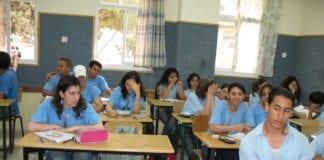 En klasse på Mar Elias videregående skole. (Foto: James Emery, flickr.com)
