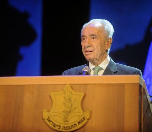 Israels president Shimon Peres (Foto: IDF)