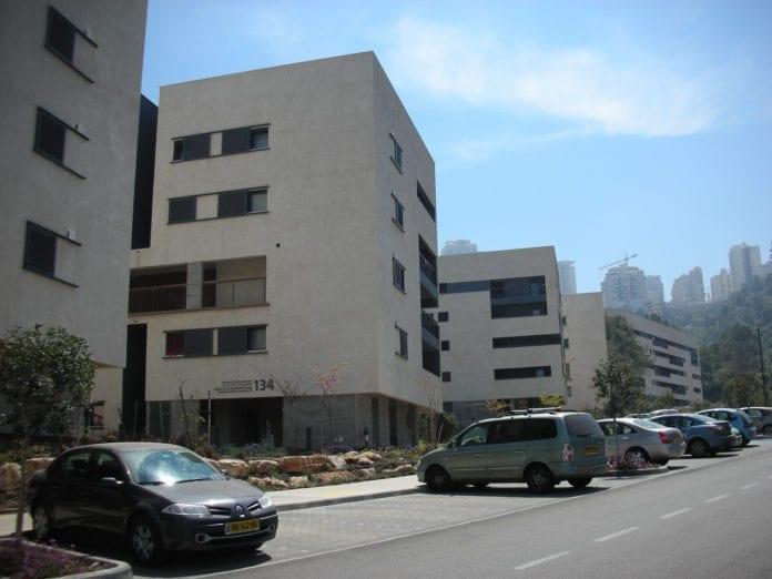 Studenthyblene til Technion-universitetet i Haifa. (Illustrasjon: Yoav Lerman, flickr.com)
