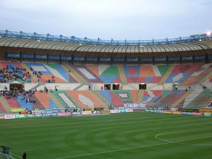 Teddy Stadium i Jerusalem (33.000 seter) er finalearena under U-21 EM i Israel i juni. (Foto: Wikipedia)