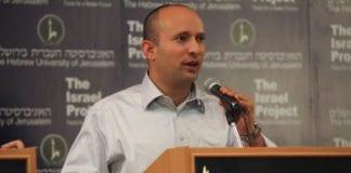 Bayit Yehudi-leder og handelsminister Naftali Bennett (Foto: Mati Milstein, The Israel Project)