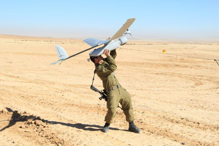 Israelsk dronefly (Foto: Zev Marmorstein, IDF)