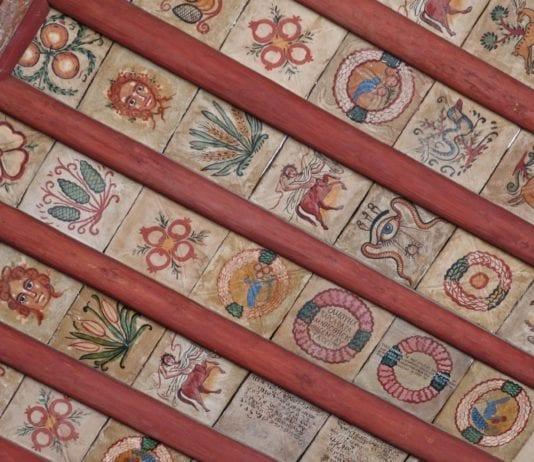 Slik så taket ut i den berømte synagogen i Damaskus. (Foto: Charles Roffey, flickr.com)