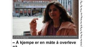 Skjermdump fra frifagbevegelse.no, artikkel publisert 30. april 2013.