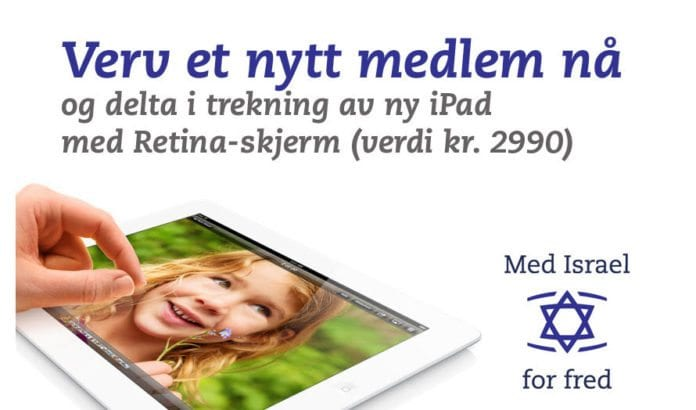 Dersom du verver et nytt medlem til MIFF kan du bli den heldige vinner av en ny iPad.