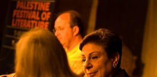 Parlamentsmedlem og Third Way-politiker Hanan Ashrawi. (Foto: Wikipedia)