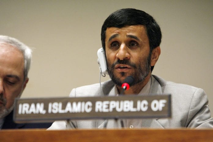 Irans president Mahmoud Ahmadinejad (Foto: Marco Castro, UN Photo)