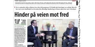 Faksmile av artikkelen i Dagen 22. mai 2013.