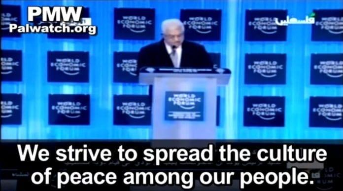 PA-president Mahmoud Abbas serverte løgner under sin tale på World Economic Forum i Jordan.