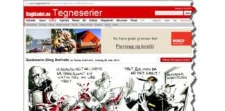 Skjermdump fra www.dagbladet.no/tegneserie/gjesteserie/20mgdrefvelin/ omkring kl. 17.00 28. mai 2013.