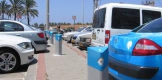 Ladestasjoner for Better Place i Israel. (Foto: Siel Ju, flickr.com)
