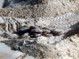 Landminer fjernet i 2009. (Illustrasjon: IDF)