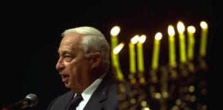 Israels tidligere statsminister Ariel Sharon. (Foto: Moshe Milner, GPO)