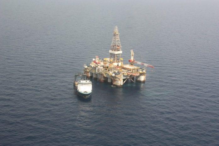 Gassdrill på Leviathan-feltet (Foto: Den britiske ambassaden i Tel Aviv, flickr.com)