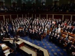 Plenumsalen i Kongressen fra Sør Korea-president Parks besøk tidligere i mai. (Illustrasjon: KOREA.NET, flickr.com)