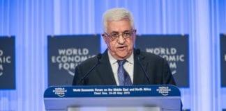 PA-president Mahmoud Abbas (Foto: Benedikt von Loebell, WEF)