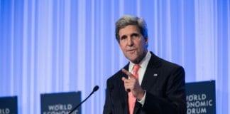 USAs utenriksminister John Kerry (Foto: Benedikt von Loebell, WEF)