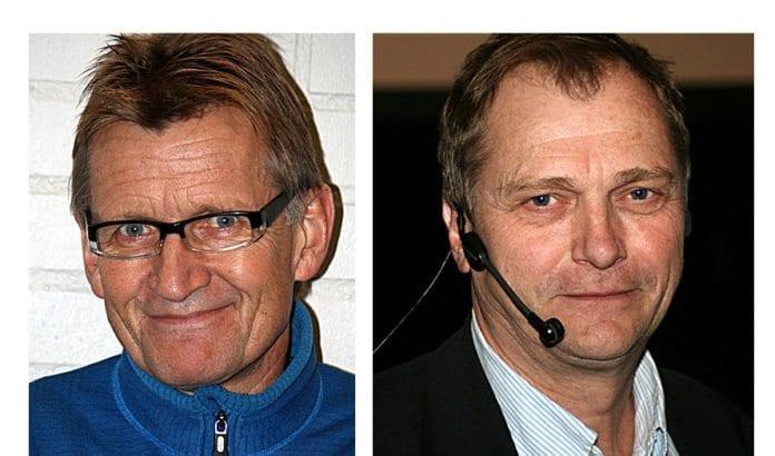 Mads Gilbert og Erik Fosse. (Foto: Wikimedia Commons)