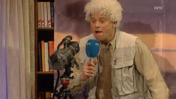 Underholdningsavdelingen i NRK parodierte
