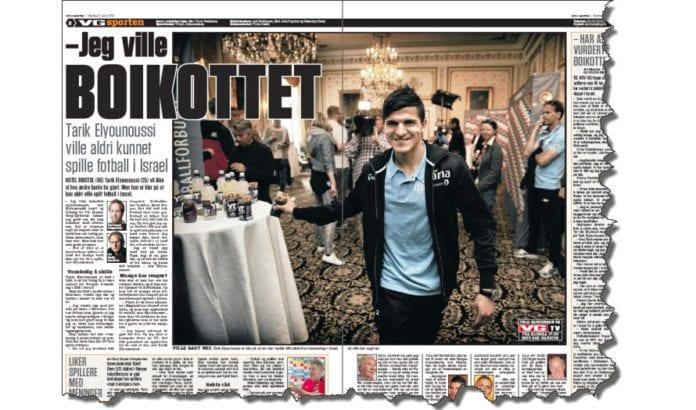 Faksmile av side 2 og 3 i VG Sporten 5. juni 2013.