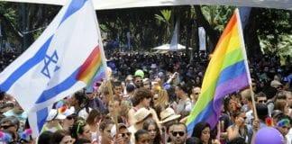Deltakere i fjoråets Guy Pride parade i Tel Aviv. (Foto: U.S. Embassy Tel Aviv)