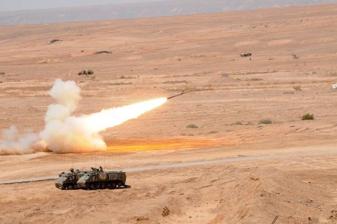 Israelsk militærøvelse (Illustrasjon: IDF)