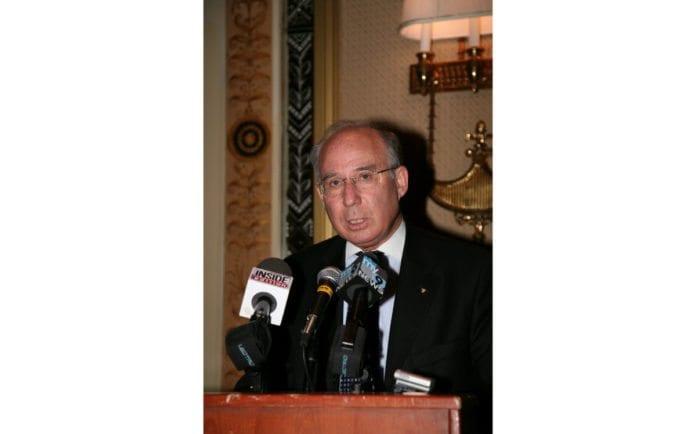 Israels nye sentralbanksjef, Jacob Frenkel (Foto: Wikipedia)
