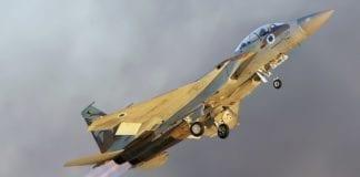 Israelske F-15I av denne typen, gjennomførte aksjonen i Syria tidligere denne måneden. (Foto: Anthony Hershko, flickr.com)