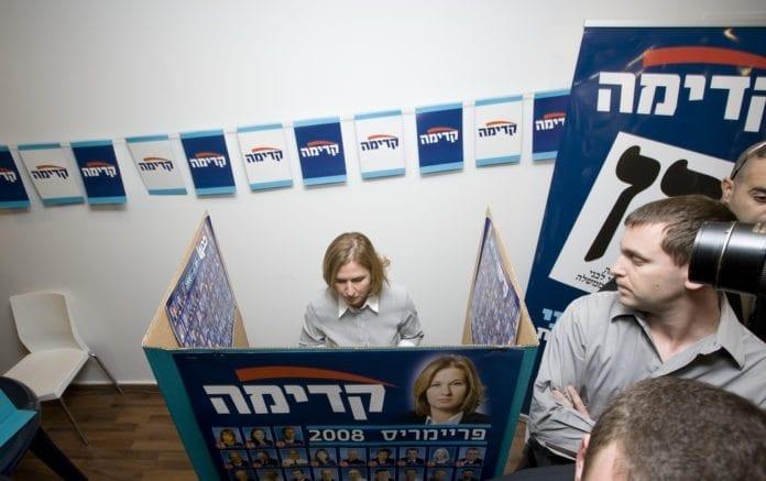 Israels diplomatiminister Tzipi Livni avgir sin stemme i 2009-valget. (Foto: Tzipi Livni, flickr.com)