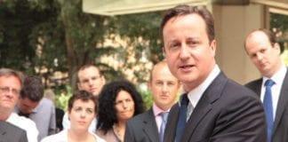 Storbritannias statsminister David Cameron gjør et nytt forsøk, for å få terrorlistet Hizbollah i EU. (Foto: UK in Italy, flickr.com)