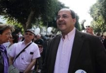 Knesset-medlem for United Arab List, Ahmad Tibi. (Foto: Yossi Gurvitz, flickr.com)