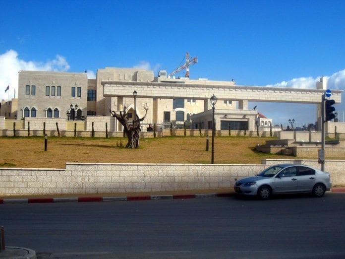 PAs hovedkvarter i Ramallah. (Illustrasjon: scott, flickr.com)