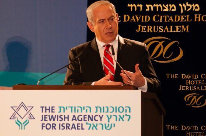 Statsminister Benjamin Netanyahu kan være i ferd med å miste grepet over sitt eget parti. (Foto: Dave Bender, Jewish Agency for Israel)