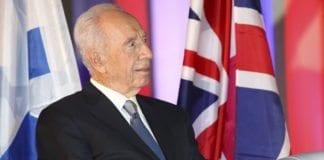 President Shimon Peres (Foto: Mati Milstein, Den britiske ambassaden i Tel Aviv)