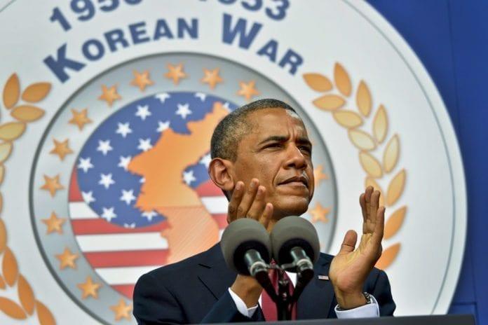 USAs president Barack Obama håper fredsforhandlingene mellom Israel og PA vil føre til to stater. (Foto: Glenn Fawcett, USAs forsvarsdepartement)