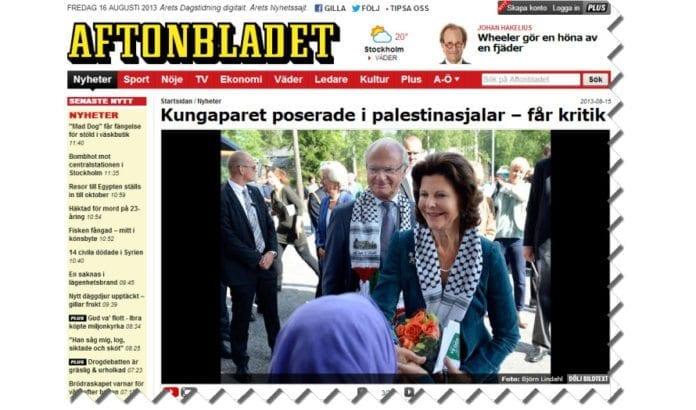 Skjermdump fra aftonbladet.se.