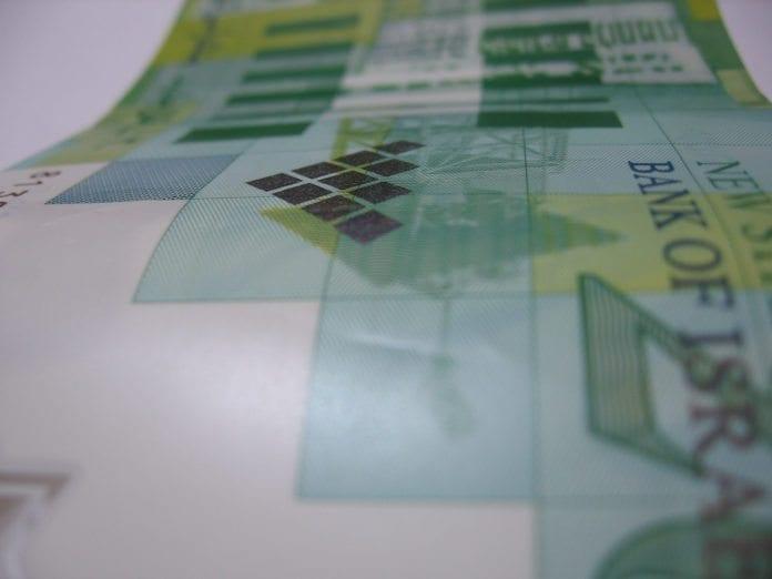 20 shekel-seddel, som tilsvarer rundt 30 norske kroner (Foto: Ron Almog, flickr.com)