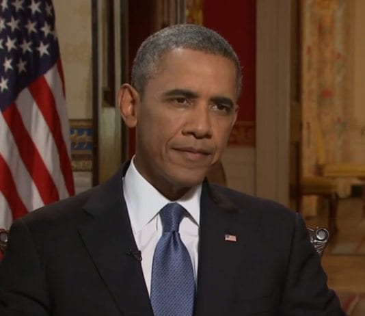 "President Barack Obama intervjues på PBS' ""NewsHour"" (Foto: Skjermdump fra PBS NewsHour, YouTube.com)"