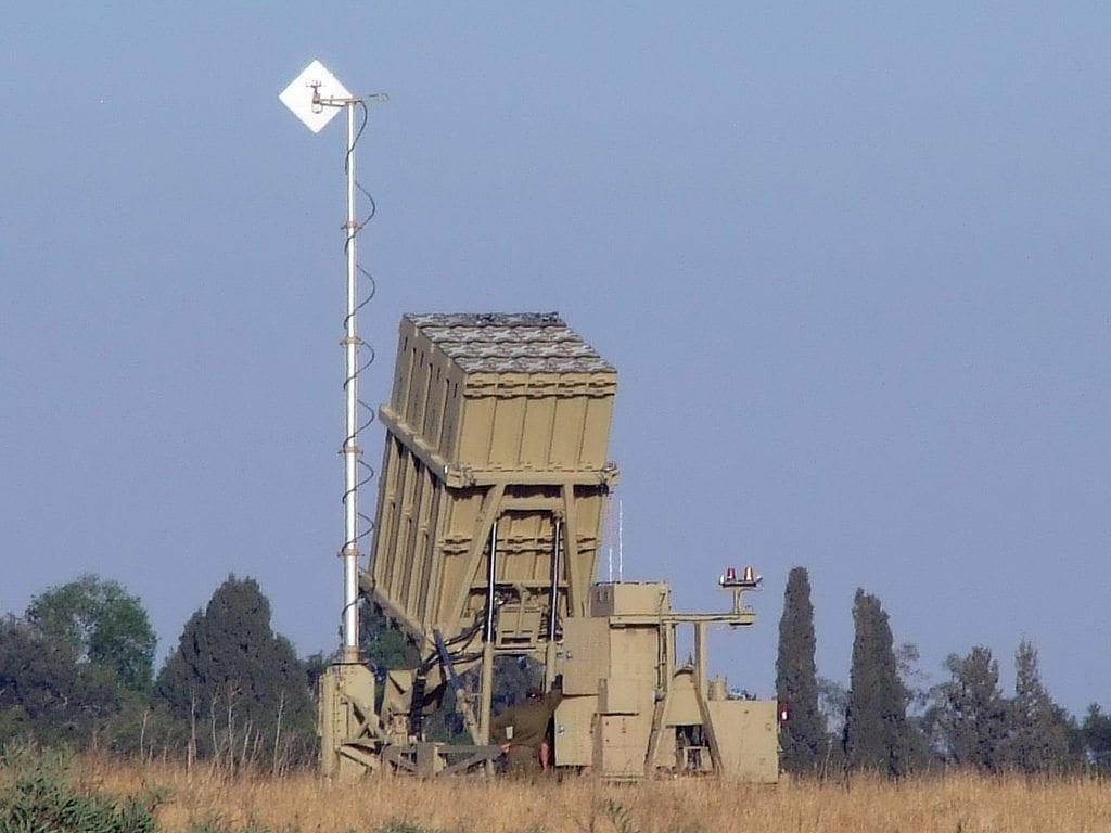 Iron Dome-batteri nær Sderot (Illustrasjon: natanflayer, flickr.com)